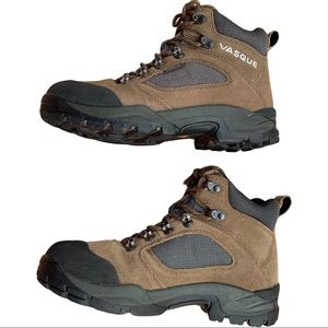 Vasque Mens Hiking Boots Work Shoes Gortex Leather